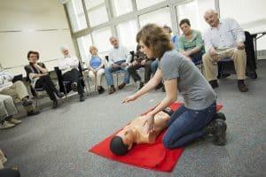קורס עזרה ראשונה והחייאה לעובדי הוראה בהיקף 44 שעות